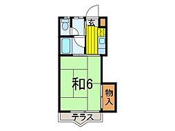 ペアパーク21[2階]の間取り