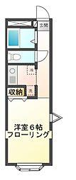 ポレールミヤマ[1階]の間取り