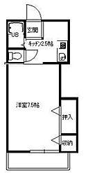 アヴェニール湘南I[2階]の間取り