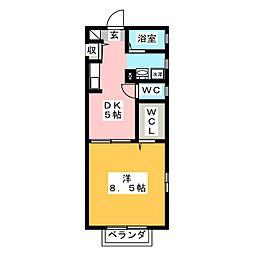 グリフィンドール[1階]の間取り
