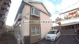 大阪府東大阪市中新開2丁目の賃貸アパートの外観