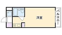 夙川羽衣町パークプラザ[306号室]の間取り