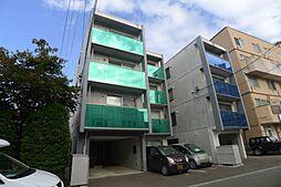 北海道札幌市豊平区平岸一条9丁目の賃貸マンションの外観