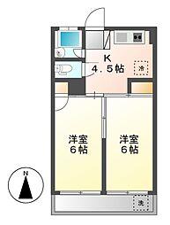 大信ビル[3階]の間取り