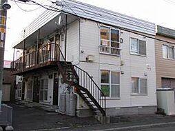 北海道札幌市白石区栄通19丁目の賃貸アパートの外観