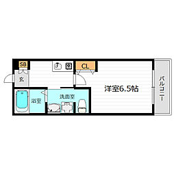 SWISS京橋[3階]の間取り