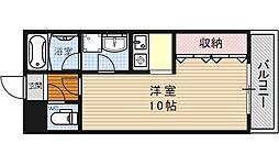 ヴァンヴェール35[207号室号室]の間取り