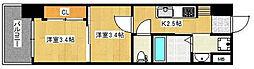 Mark Avenue Tower久留米 No.99[305号室]の間取り