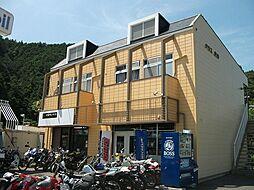 静岡県静岡市葵区与左衛門新田の賃貸アパートの外観