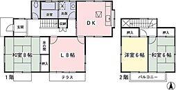 [一戸建] 神奈川県相模原市緑区若葉台7丁目 の賃貸【神奈川県 / 相模原市緑区】の間取り