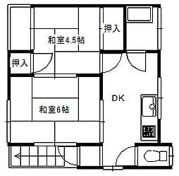 藤久保アパート[2階]の間取り