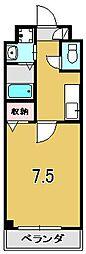 シャルマントゥ−ル[202号室]の間取り