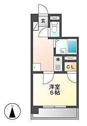 グランソワール千代田[4階]の間取り