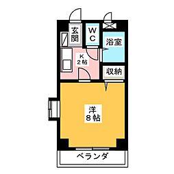 レガーロ鴨江II[3階]の間取り