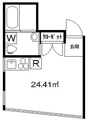 M[2階]の間取り