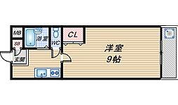 メゾンドール豊寿荘[307号室]の間取り