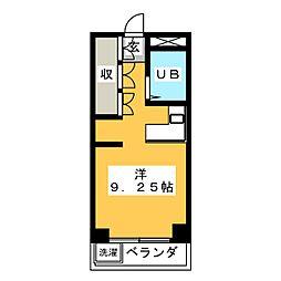 エーダイロイヤルプラザ[4階]の間取り