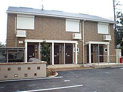 奈良県大和郡山市北郡山町の賃貸アパートの外観