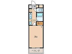 A&Sコーポ[2階]の間取り