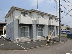 東京都町田市成瀬が丘2の賃貸アパートの外観