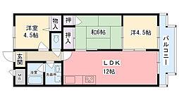 CaSa IKUMATAⅡ[4階]の間取り