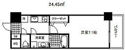 アドバンス三宮シュロス[2階]の間取り
