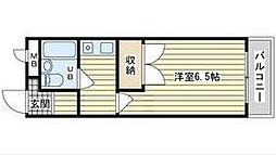 大阪府高槻市西真上1丁目の賃貸マンションの間取り
