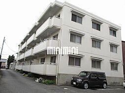 愛知県岡崎市福岡町字北裏の賃貸マンションの外観