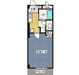 サリーレ中平[1階]の間取り