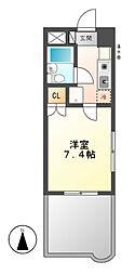 セルシオンITO[2階]の間取り