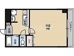 インプレイス鶴見緑地[3階]の間取り