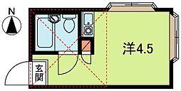 ピュアタウン上福岡[2階]の間取り