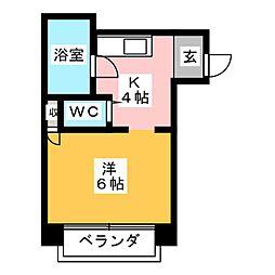 第5加藤ビル[3階]の間取り