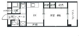 芦田川ハイツ[1階]の間取り