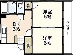 第2神川ビル[1階]の間取り