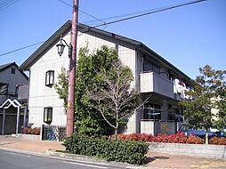 大阪府吹田市高城町の賃貸アパートの外観