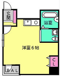 OBCマンション[2階]の間取り