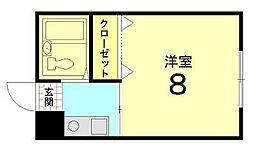 Casa Coraggio[203号室]の間取り
