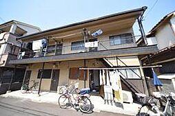 八木アパート[2階号室]の外観