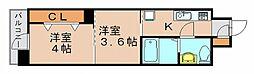 リファレンス博多駅前[6階]の間取り