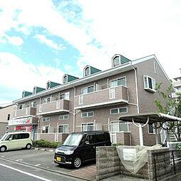 福岡県北九州市小倉南区津田新町4丁目の賃貸アパートの外観