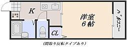 グリーンヒル[2階]の間取り