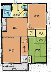 [一戸建] 栃木県足利市借宿町1丁目 の賃貸【/】の間取り