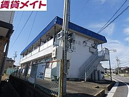 第二コーポ優珈里[1階]の外観