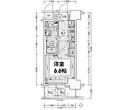 エステムコート新大阪IXグランブライト[11階]の間取り