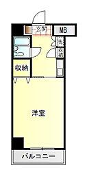 ダイアパレス富士吉原[8階]の間取り