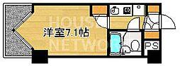 DETOM-1三条通[205号室号室]の間取り