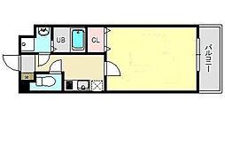 ラ・ルーナ新松戸[4階]の間取り