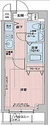メインステージ多摩川[5階]の間取り
