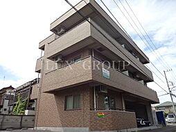 東京都あきる野市下代継の賃貸マンションの外観